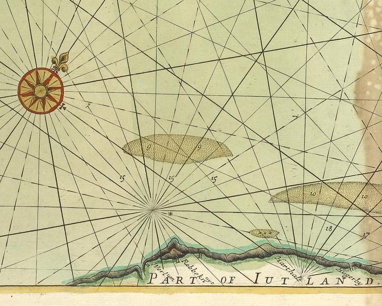 Karta – Norges kust – 1702