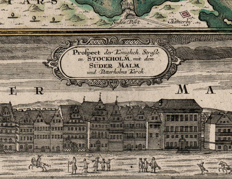 Karta/bild – Stockholm – 1730-tal