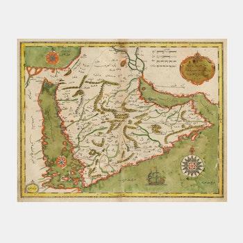 Karta – Konstantinopel, Istanbul – 1732