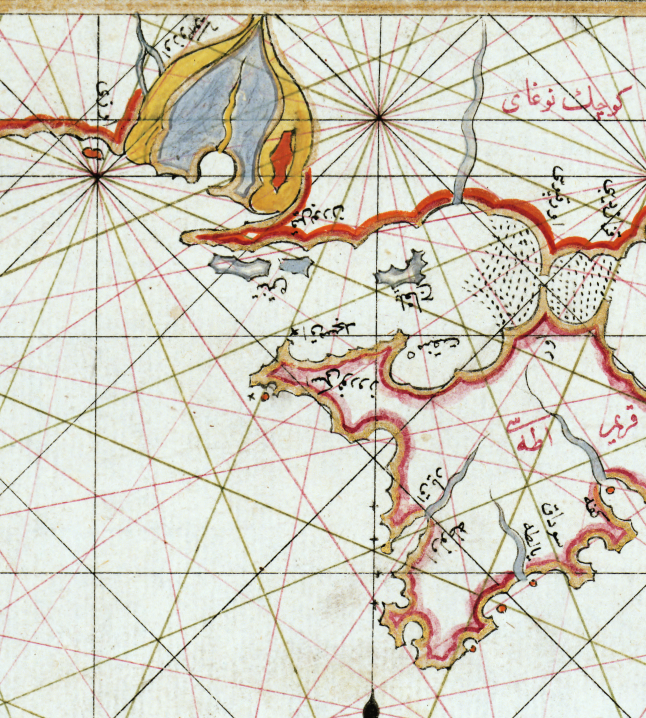 Karta/bild – Svarta havet – 1525