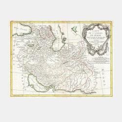 Karta – Persien – 1771