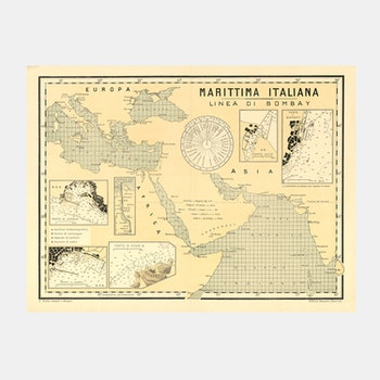 Karta – Marittima Italiana – 1900