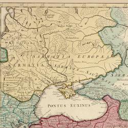 Karta – Mellanöstern – 1700-tal