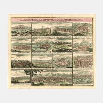 Bilder – Städer i Persien – 1762
