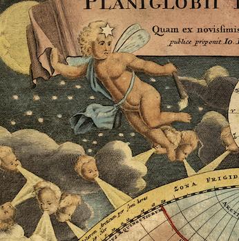 Karta – Hemisfär – 1716