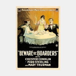 Filmposter – Beware of Borders – 1918