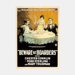 Filmposter – Beware of Borders – 1918