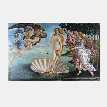 Bildkonst – The Birth of Venus – 1480