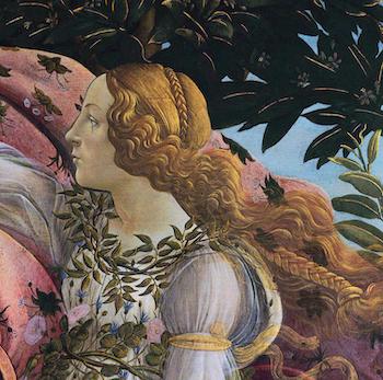 Bildkonst – The Birth of Venus – 1480