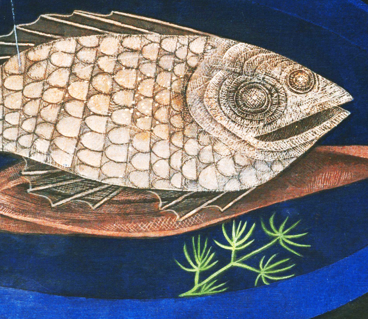 Konst – Paul Klee, Around the Fish – 1926