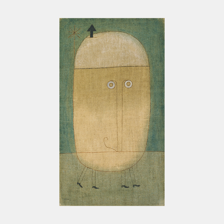 Konst – Paul Klee, Mask of Fear – 1932