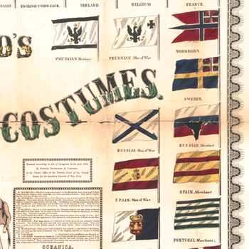 Bild – The World's Standards & Costumes – 1855