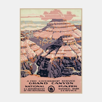 Poster – Grand Canyon – 1938