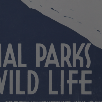 "Poster – ""National Parks"" – 1938"
