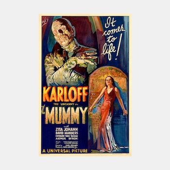 Filmposter – The Mummy – 1932