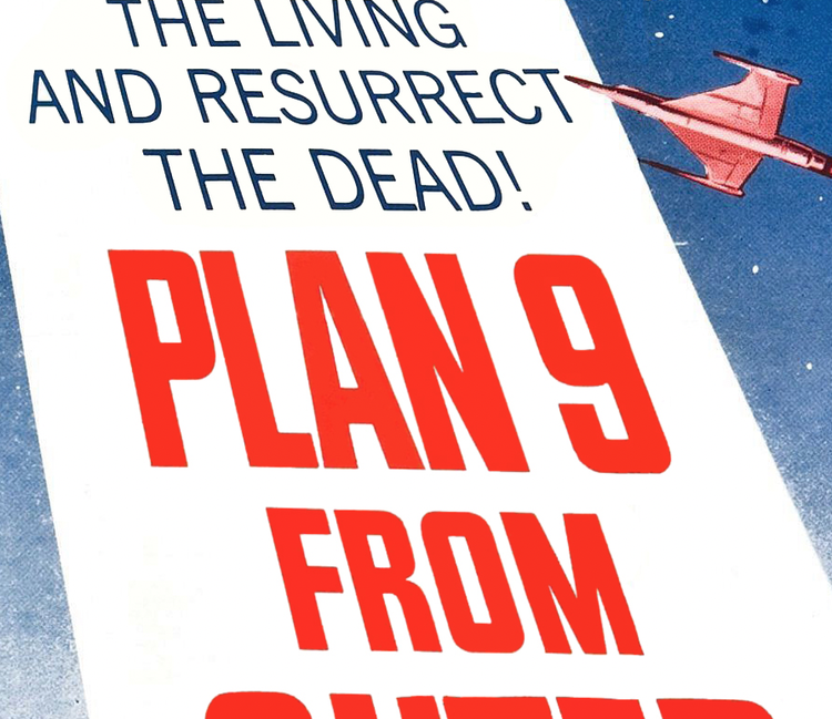 Filmposter – Plan 9 from Outer Space – 1959