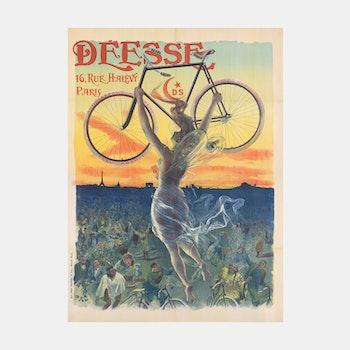 """Reklambild – """"Déesse"""", Paris – 1898"""