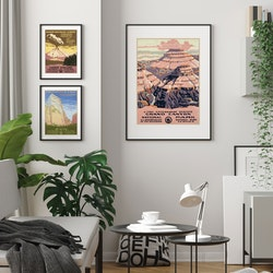 Poster – Grand Canyon – 1938