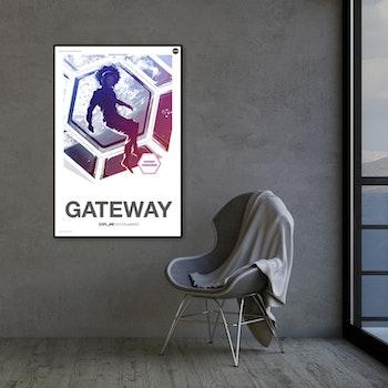 """Poster från NASA, """"Gateway"""""""