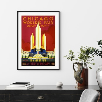 Poster – Chicago World's Fair