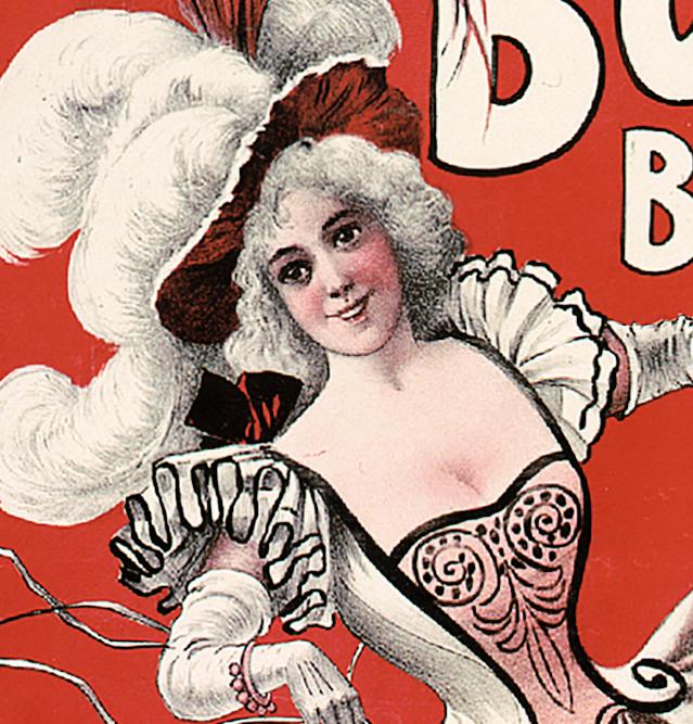 Poster – Bon Ton Burlesque – 1898