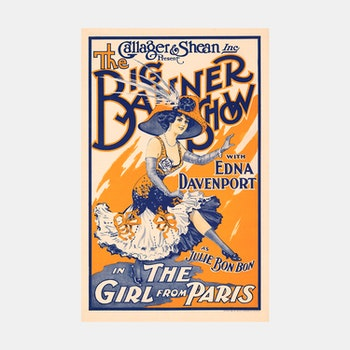 Teaterposter – The Big Banner Show – 1910