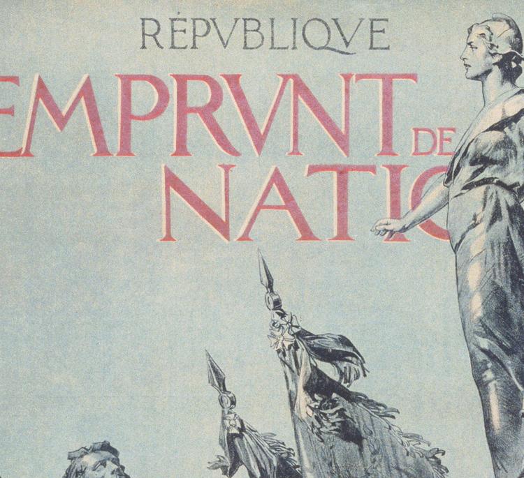 Reklamposter – Krigsobligationer – 1917