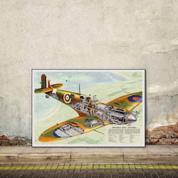 Poster – Britain's new Spitfire – 1942