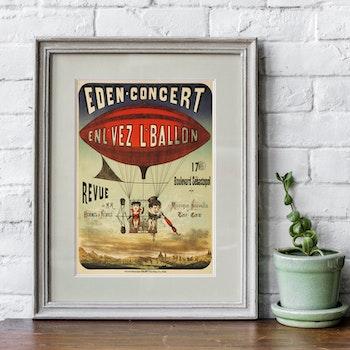 Cirkusposter – Eden-Concert – 1884