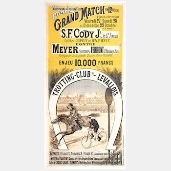 "Poster – ""Grand Match"" – 1893"