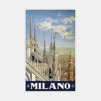 Reklambild – Milano – 1920