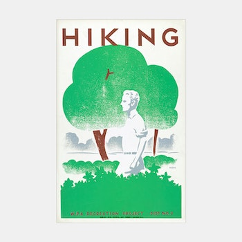 Poster – Hiking – 1939