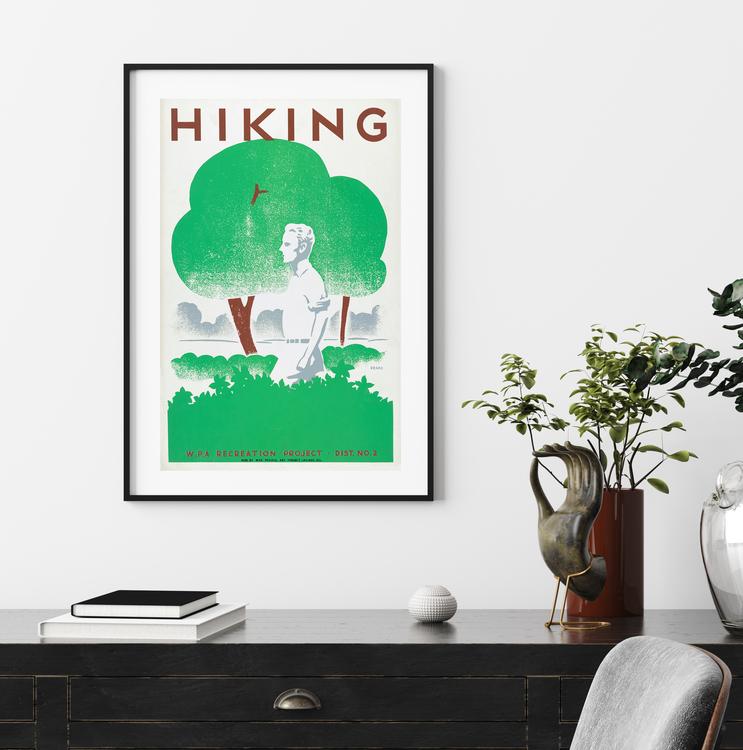 Poster – Hiking – 1939