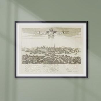 Plansch – Stockholm – 1600-tal