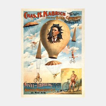 Cirkusposter – Chas. H. Kabrich – 1896