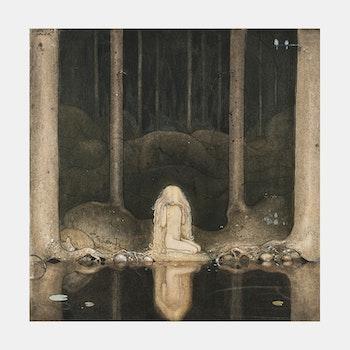 "Konst – John Bauer, ""Ännu sitter Tuvstarr..."" – 1913"