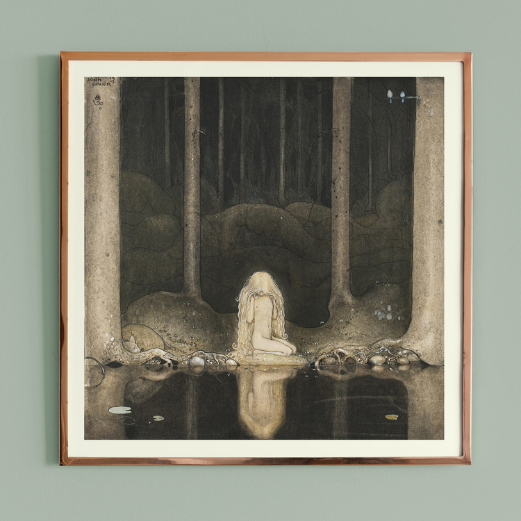 "Konst – John Bauer, ""Tuvstarr"""
