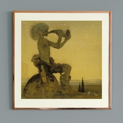Konst – John Bauer, Vill Vallareman – 1910