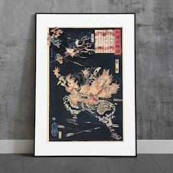 Konst – Yoshitoshi, Japan – 1865