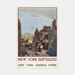 "Poster – ""New York Central System"" – 1920"