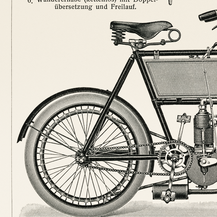 Poster – Motorcykel – 1894