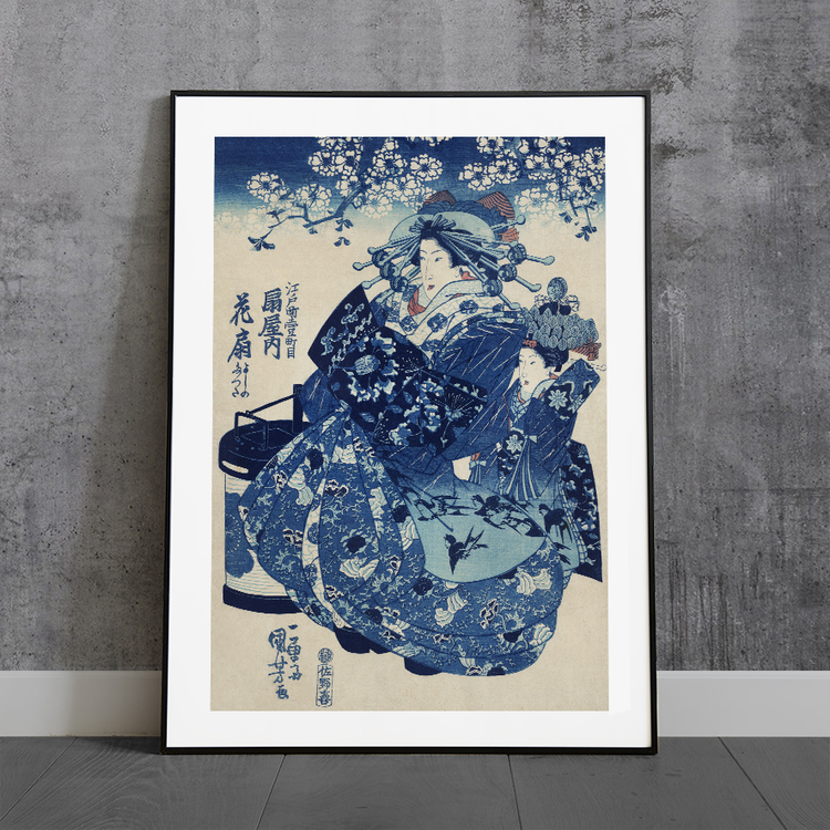 Poster – Japansk konst, Kuniyoshi – 1700-tal