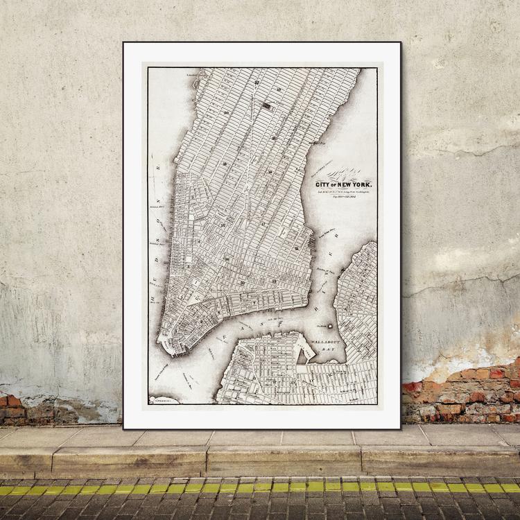 Karta – City of New York