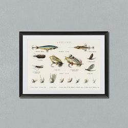 """Angling"" – fiskedrag – 1879"
