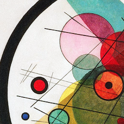Kandinsky – Circles in a Circle