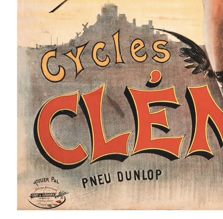 Reklamposter – Cycles Clément – 1898