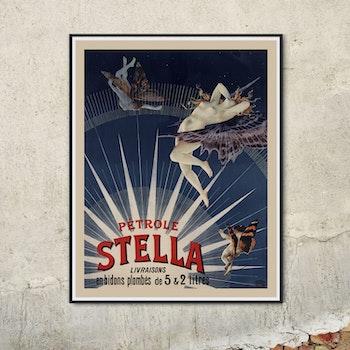 Reklamposter – Pétrole Stella