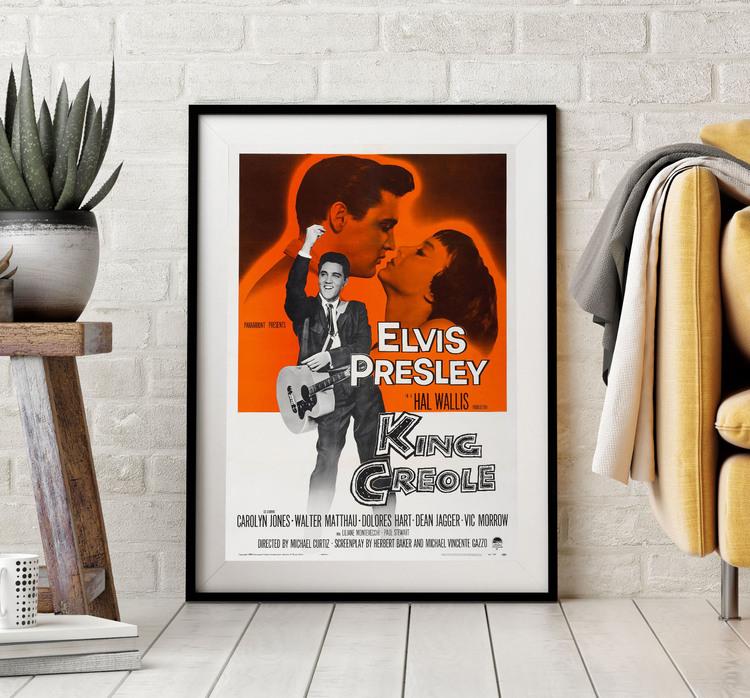 Filmposter – Elvis, King Creole