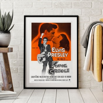 Filmposter – Elvis, King Creole