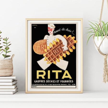 POSTER – Fransk Art Deco, RITA